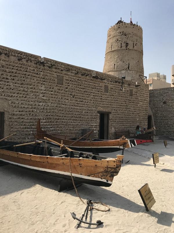 łodzie Dubaj - Muzeum - Historia