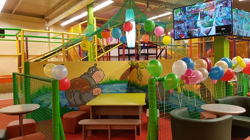 najlepsze sale zabaw Gliwice Dżungla atrakcje dla dzieci opinie