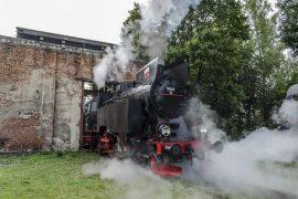 śląsk przejazdy parowozem muzeum kolejnictwa Jaworzyna Śląska