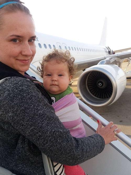 podróż samolotem z niemowlakiem do Grecji Zakynthos opinie