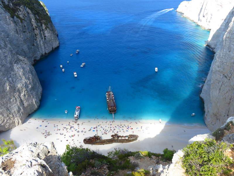 10 Zatoka Wraku Zakynthos opinie jak dojechać samochodem z dzieckiem zwiedzanie