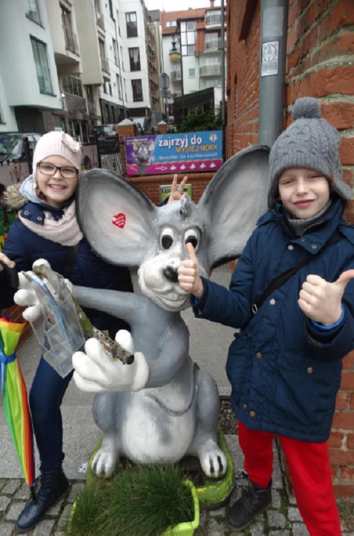 Kołobrzeg Miasto Myszy atrakcje dla dzieci zimą
