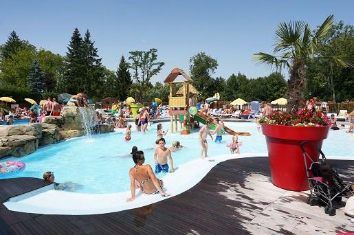 Le Chene Gris Paryż Francja Disneyland camping rodzinne wakacje