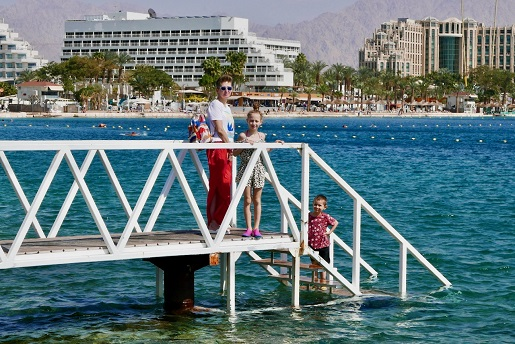 Eljat Izrael z dziećmi w lutym atrakcje ceny opinie zwiedzanie ferie zimowe