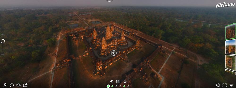 30 budowli, które można zwiedzić bez wychodzenia z domu angkor wat