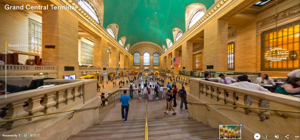 30 budowli, które można zwiedzić bez wychodzenia z domu grand central terminal