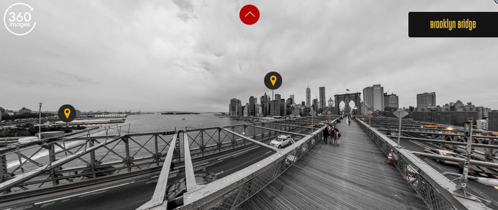 30 budowli, które można zwiedzić bez wychodzenia z domu most brooklynski