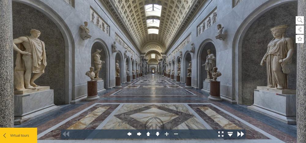 30 budowli, które można zwiedzić bez wychodzenia z domu muzeum watykańskie