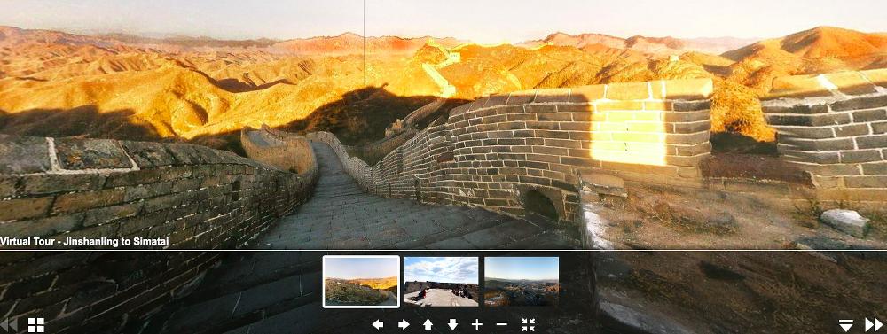 30 budowli, które można zwiedzić bez wychodzenia z domu wielki mur chiński