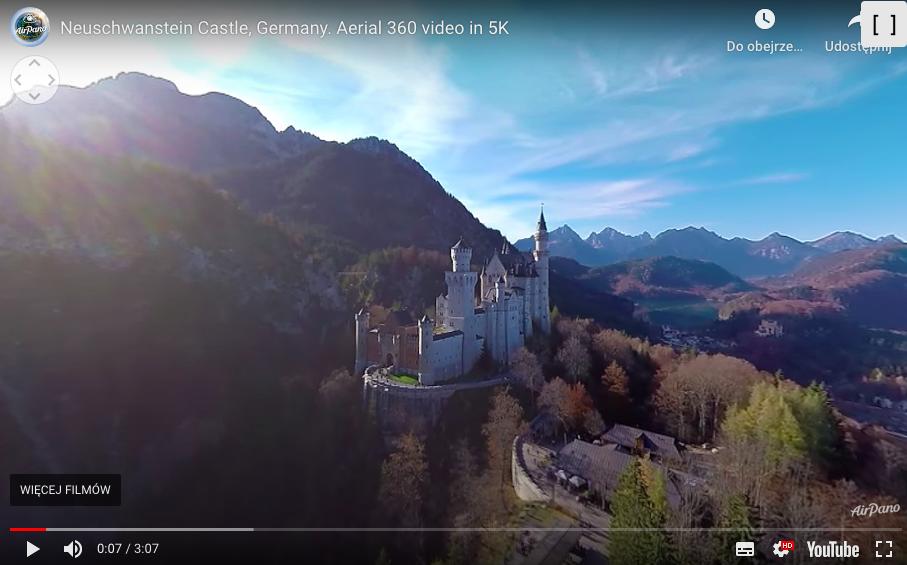 30 budowli, które można zwiedzić bez wychodzenia z domu zamek Neuschwanstein