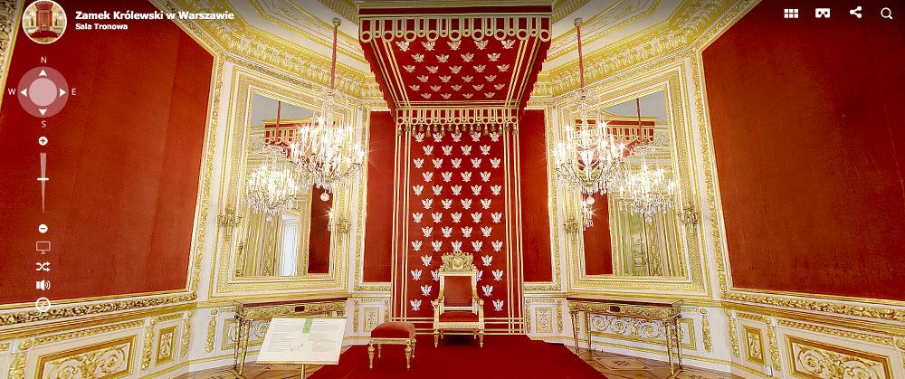 30 budowli, które można zwiedzić bez wychodzenia z domu zamek królewski