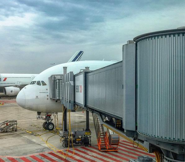 Airbus A380 Air France opinie lotnisko Paryż
