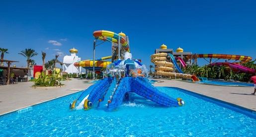 atrakcje dla dzieci Egipt hotele z aquaparkiem opinie
