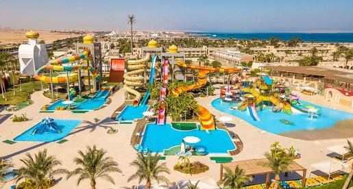 Aladdin Beach baseny hotel Egipt atrakcje opinie