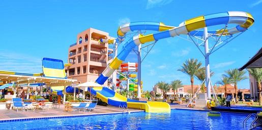 hotel Egipt aquapark dla dzieci baseny atrakcje dla dzieci opinie
