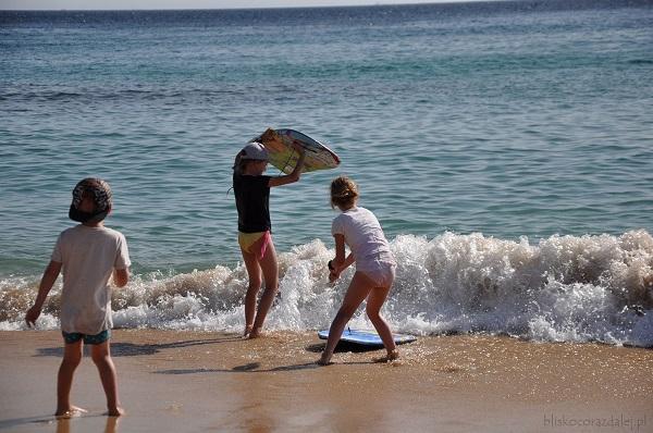 plaże Costa de la luz Hiszpania opinie