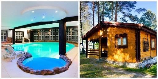 bajkowy zakątek osada warmińska gdzie na wakacje z dziećmi hotele ceny noclegi basen