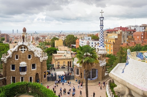 Barcelona, blisko kempingu Vilanova Park, Hiszpania