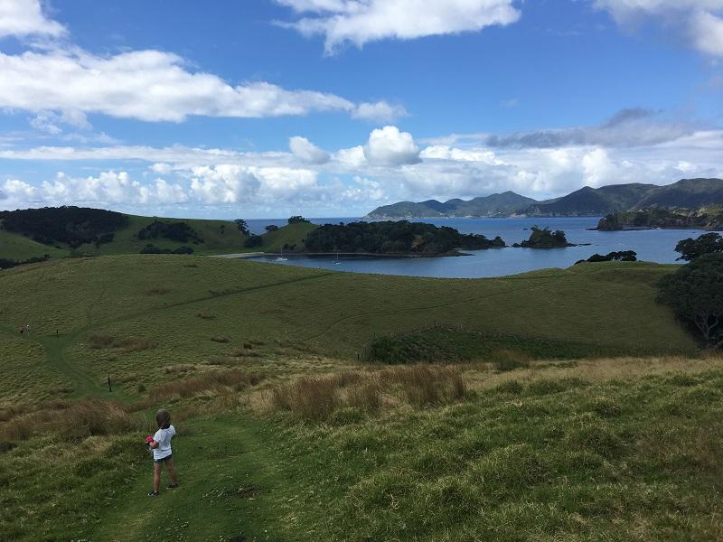 Bay of Islands Urapukapuka Nowa Zelandia relacja z podróży wycieczki z dziećmi opinie