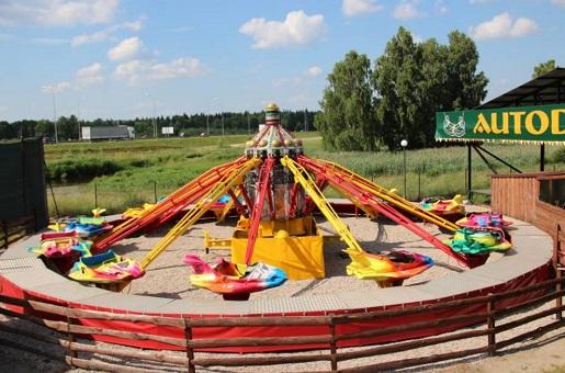 park rozrywki dla dzieci Białystok rodzinne atrakcje opinie