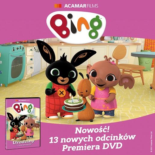 Bing urodziny i inne przygody wydanie dvd