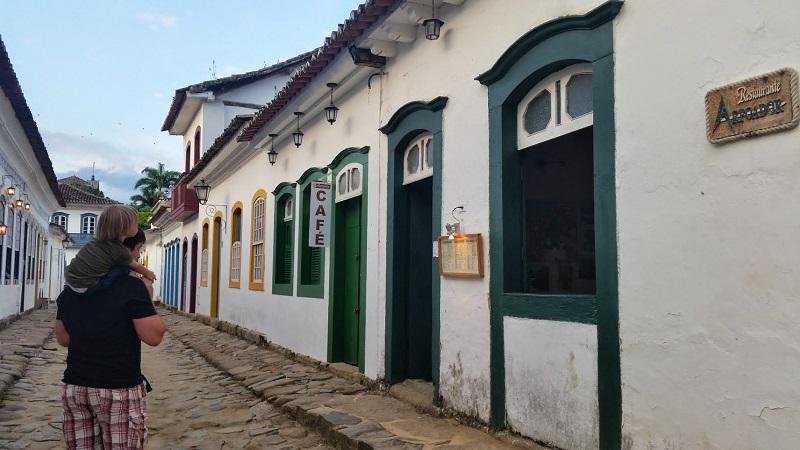 Brazylia z dzieckiem Paraty zwiedzanie