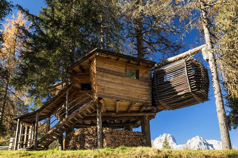 Caravan Park Sexten Dolomity gdzie spać noclegi
