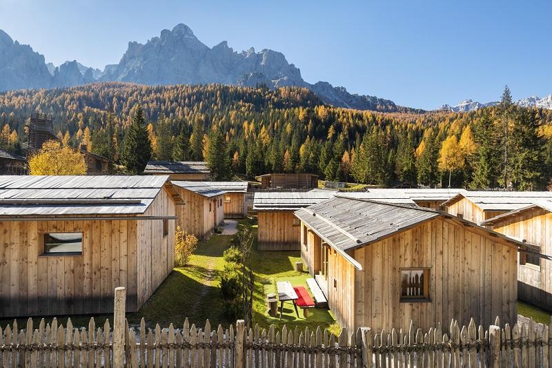 Caravan Park Sexten Dolomity noclegi z dzieckiem atrakcje co zobaczyć
