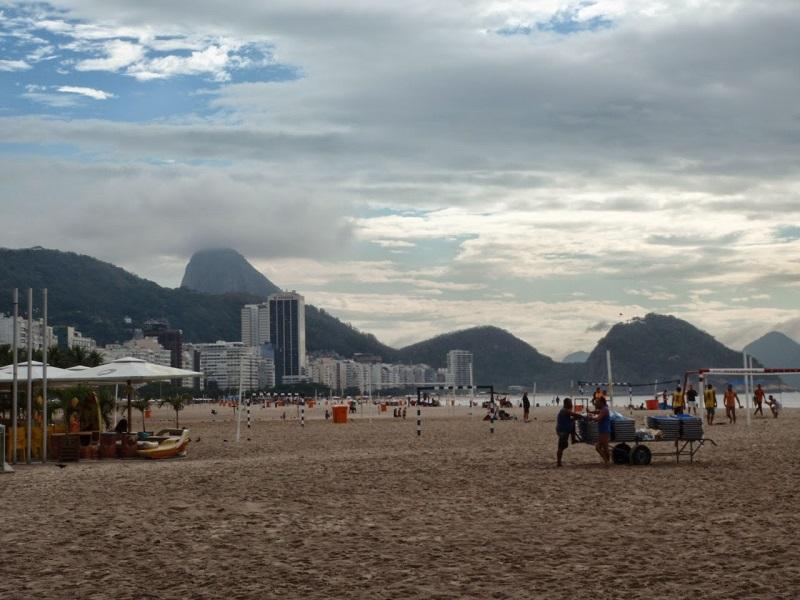 Copacabana Rio de Janiero opinie z dzieckiem