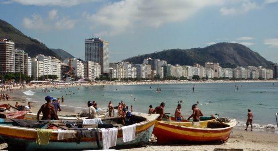 Copacabana Rio z dzieckiem Brazylia opinie