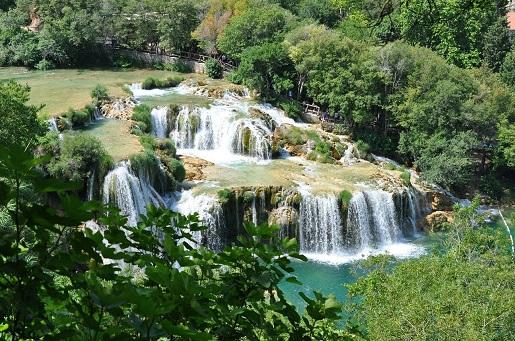 Dalmacja co zobaczyć wodospad Krka park narodowy Chorwacja opinie