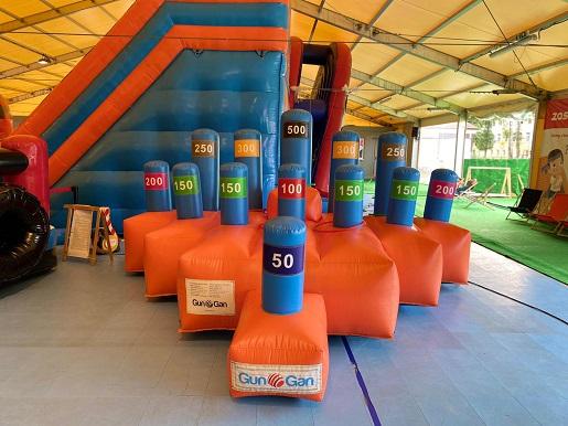 Dmuchany Park Rozrywki w Łebie atrakcje dla rodzin z dziećmi 2