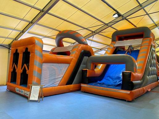 Dmuchany Park Rozrywki w Łebie atrakcje dla rodzin z dziećmi 5