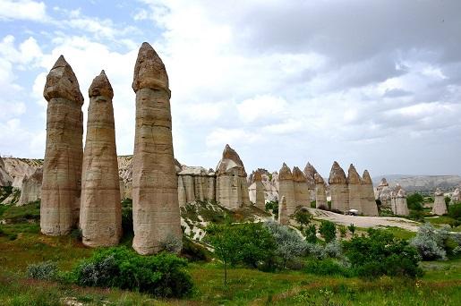 Dolina Miłości Turcja falusy