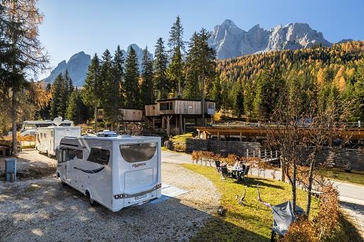 Dolomity Camping Miama opinie atrakcje