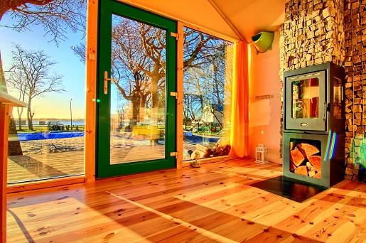 Domki nad morzem z kominkiem apartamenty Jamno Mielno opinie Herbals