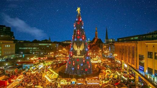 Dortmund Najlepsze Bożonarodzeniowe Jarmarki Świąteczne Niemcy