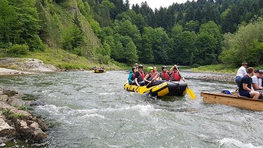 Dunajec rafting z dziećmi opinie bezpieczeństwo ceny trasy atrakcje
