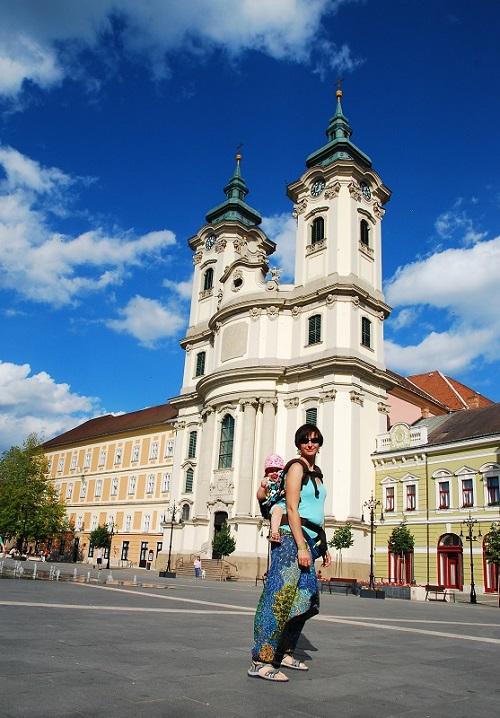 Eger Węgry starówka atrakcje wakacje