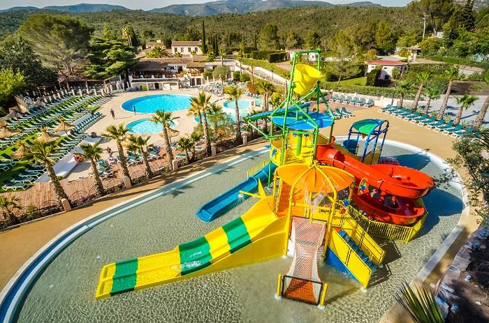 Esterel kemping z wodnymi atrakcjami dla dzieci aquapark najlepsze