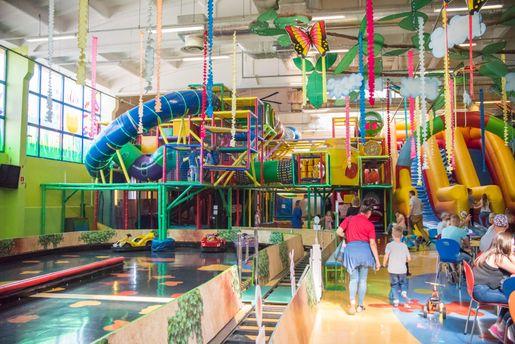 Bydgoszcz najlepsze sale zabaw dla dzieci Family Park