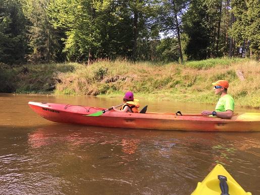 Fot. 15 Mała Panwia rzeka - spływ kajakowy z dziećmi trasa opinie