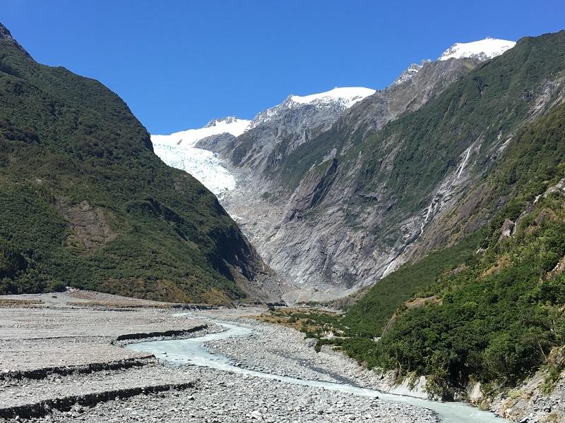Franz Jozef lodowiec Nowa Zelandia atrakcje zwiedzanie opinie