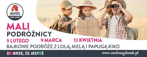 Gdańsk atrakcje na weekend dla dzieci Auchan