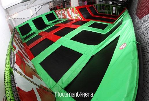 park trampolin Gdańsk atrakcje dla dzieci movement arena stadion energa opinie
