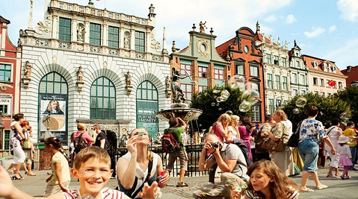 Gdansk best attractions for kids holiday Poland