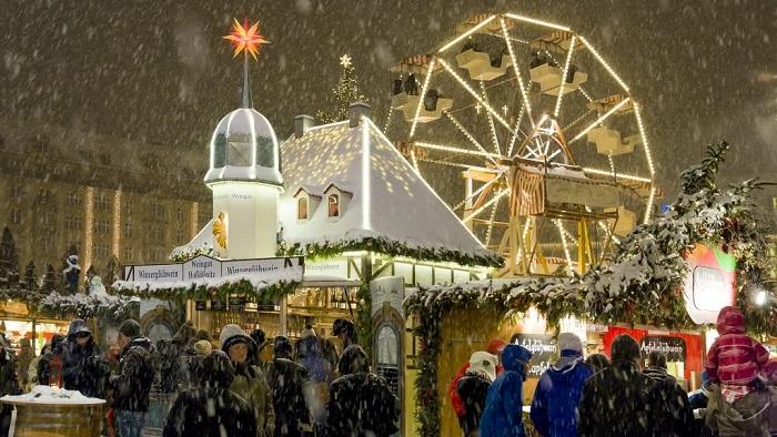 Gdzie na Jarmark Świąteczny do Niemiec - Drezno opinie Striezelmarkt