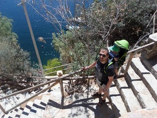 wakacje z dwulatkiem co zobaczyć Kreta