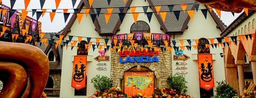 Halloween w Energylandii promocja dynie dekoracje