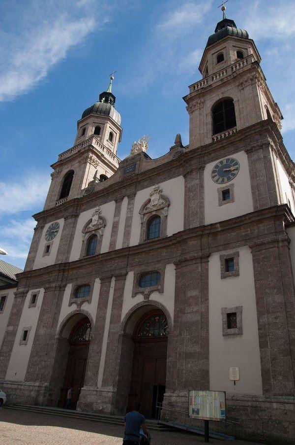 Innsbruck katedra atrakcje